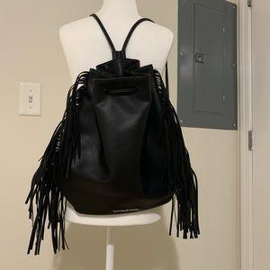 Victoria's Secret backpack with fringes